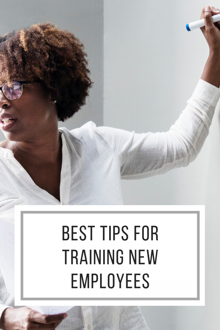 Best tips for training new employees