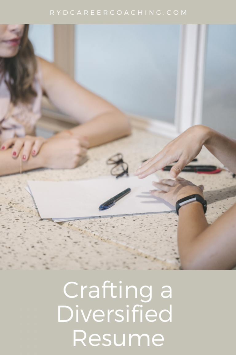 Crafting a Diversified Resume
