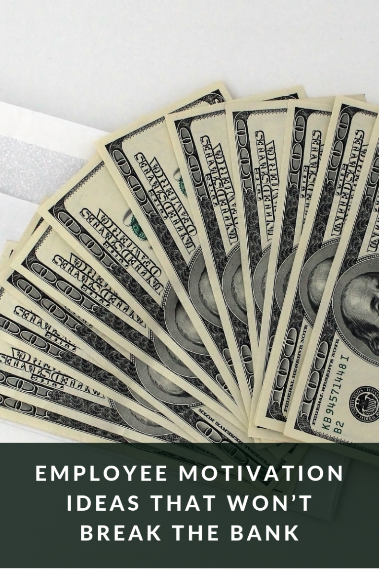Employee Motivation ideas that won't break the bank