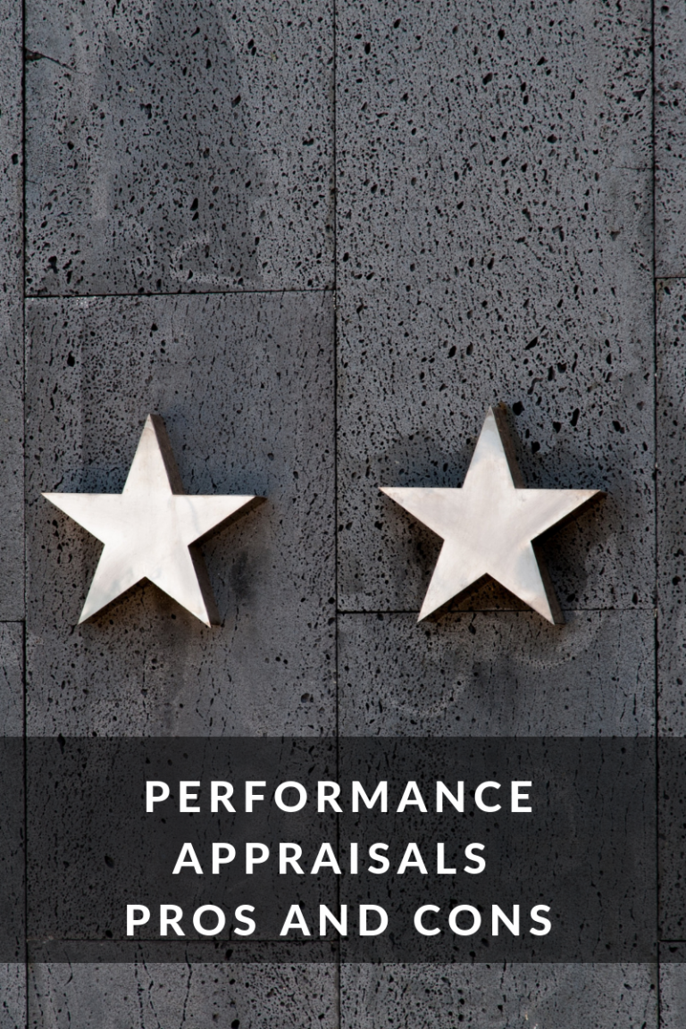 Performance Appraisals Pros and Cons