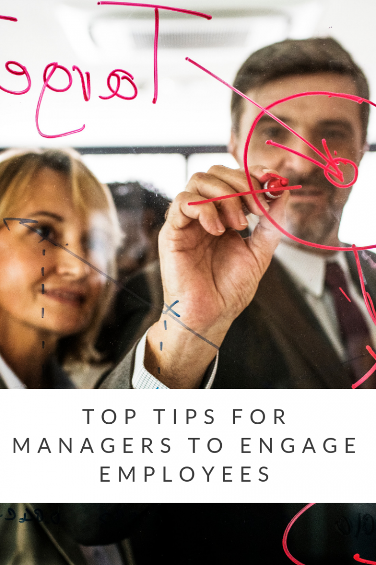 Top Tips for managers to engage employees